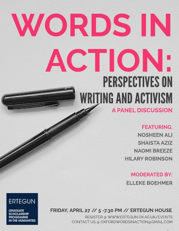 activism through writing