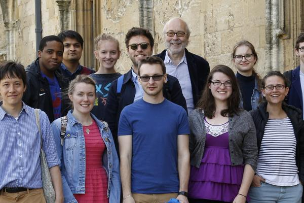 Ertegun Scholars and the Scholar in Residence