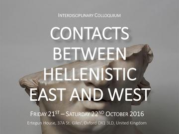 Contacts between Hellenistic East and West