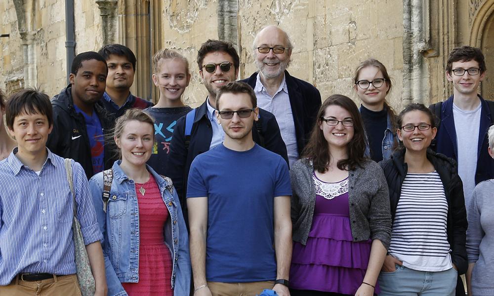 Ertegun Scholars and the Scholar in Residence
