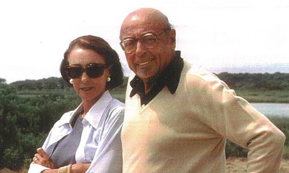Mica and Ahmet Ertegun